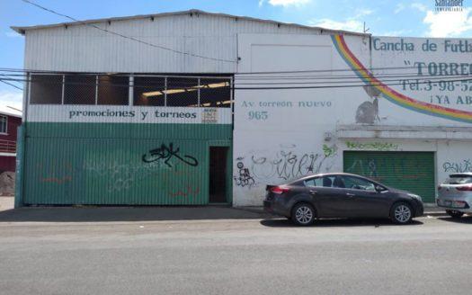 Bodega en renta 800m2 Av. Torreón Nuevo $40,000